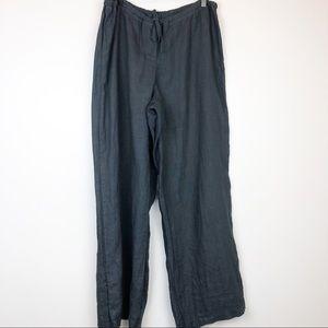 CP Shades Jenn Wide Leg Drawstring Linen Pants